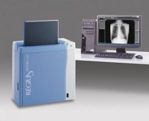Digitales Röntgen mit der Regius 110