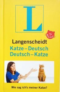 buch langenscheid-katze-deutsch